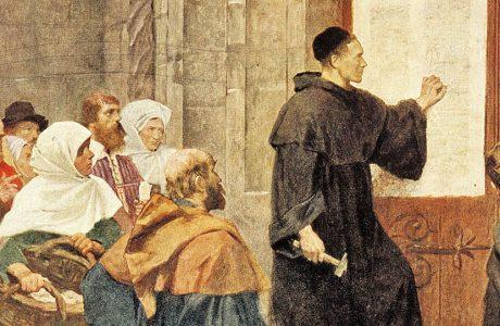 Мартин Лютер и лютеранство