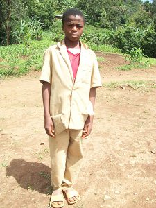 ASEH STANDLY: needs to be supported in school so that he can become an BUILDING CONTRACTOR.