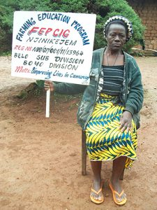 I am LYDIA FONTAMA, I need your support to be buying food because i have problems with my legs for two years now, i am in one position , I cannot move. Please help me through FEPCIG. THANK YOU.