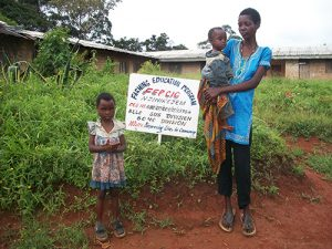 JUSTINA FINDOH needs support in order to feed herself and her children. PLEASE HELP HER. THANKS.