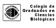 Logo Colegio de Graduados en Ciencias Biológicas