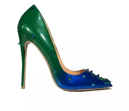 The Ferago Alien Studded Pumps 1