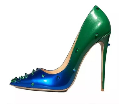 The Ferago Alien Studded Pumps 3