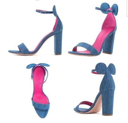 The Ferago Mickey Sandals Block Heels5