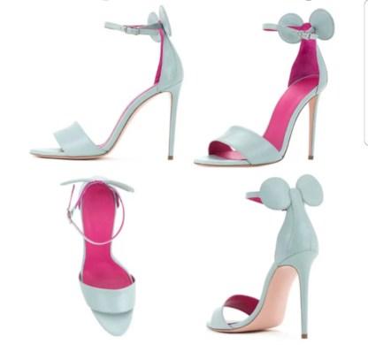 The Ferago Mini Mouse Heels 5