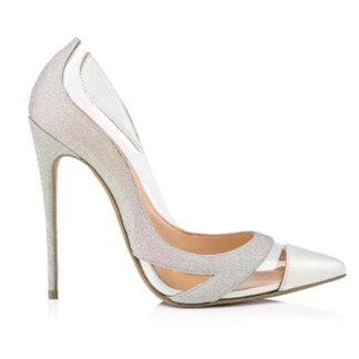 The Ferago PVC Multicolored Transparent Pumps 1
