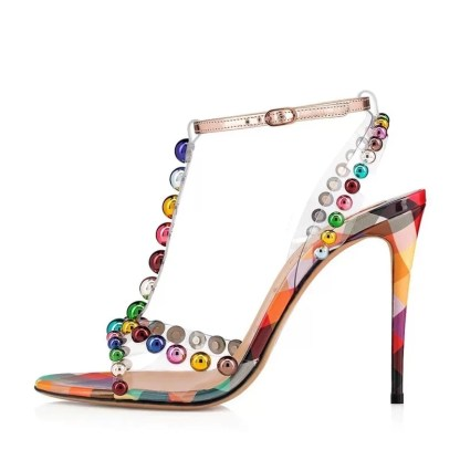 The Ferago Sprinkled Sandals 1