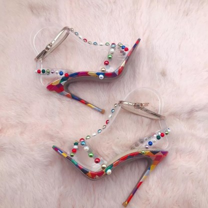 The Ferago Sprinkled Sandals 2