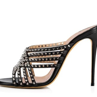 The Ferago Studded Mules 1