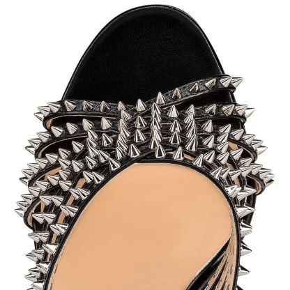 The Ferago Studded Mules 2