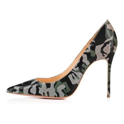 The Ferago Camouflage Pumps 4