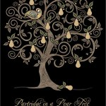 pear tree - christmas card - ferailles.co.uk