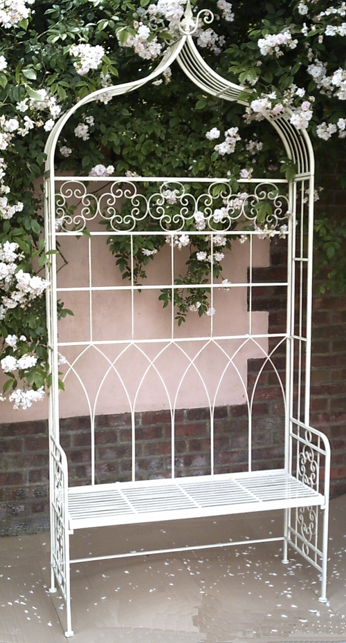 Metal Garden Arbour Bench