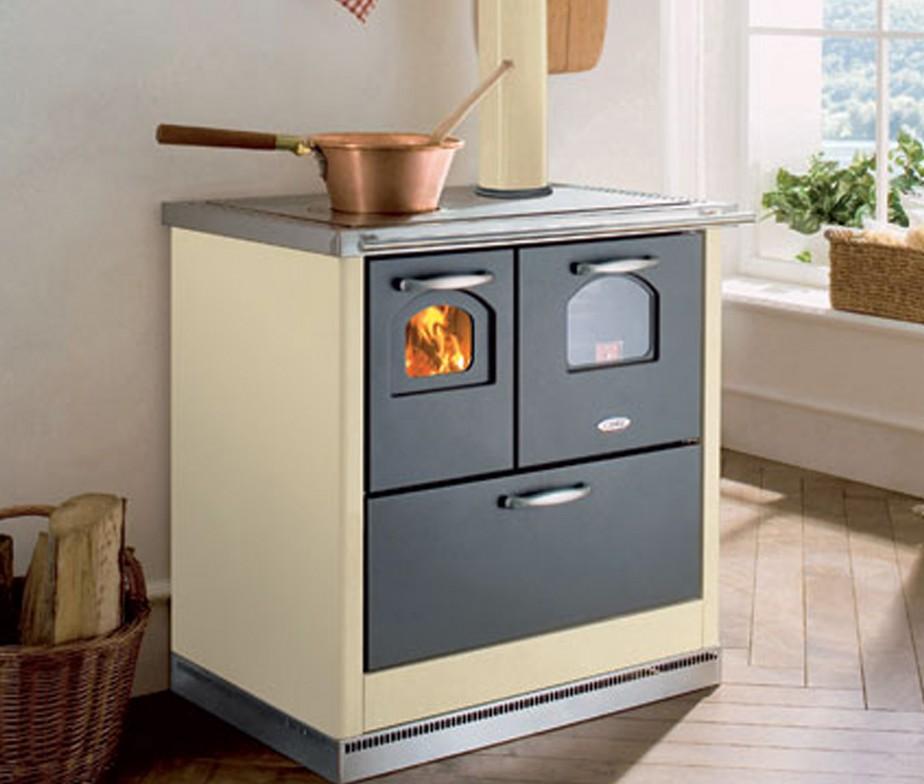 Fercas  Cucina Cadel economica a legna modello Smart