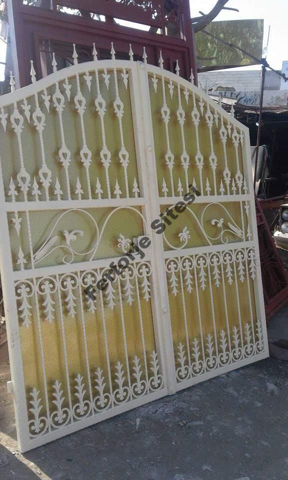 ferforje bahçe kapıları