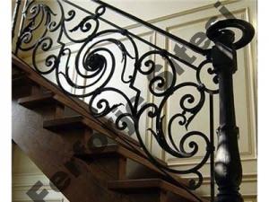 ferforje merdiven korkulugu