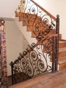 ferforje merdiven modelleri