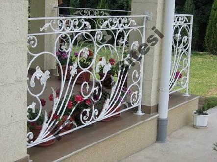 Ferforje balkon korkuluk imalatı
