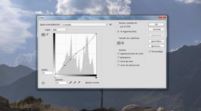 Trabajar con Curvas en Photoshop (II)