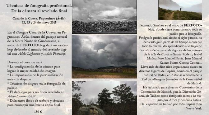 Workshop de fotografía en Peguerinos (Ávila)