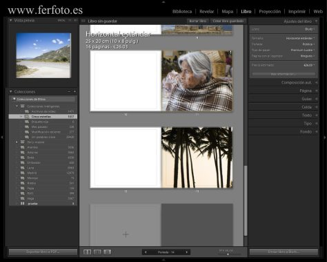 Adobe Lightroom CC 2015 Módulo Libro