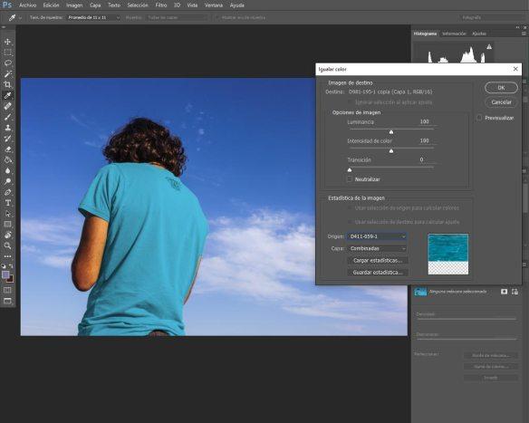 cambiar color en Adobe Photoshop