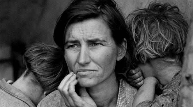 Madre migrante de Dorothea Lange