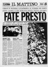 """Articolo de """"Il Mattino di Napoli"""" del Novembre 1980"""