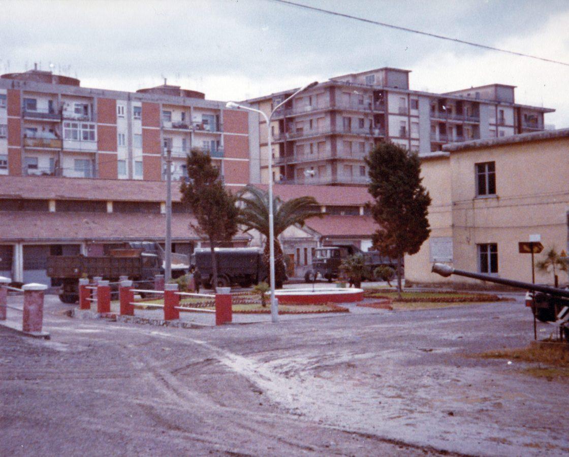 la Caserma Angelucci di Salerno