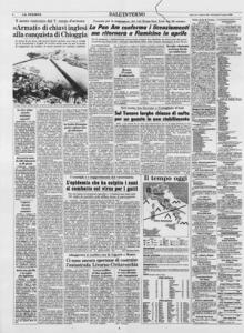 Articolo del quotidiano La Stampa del 28 Agosto 1980