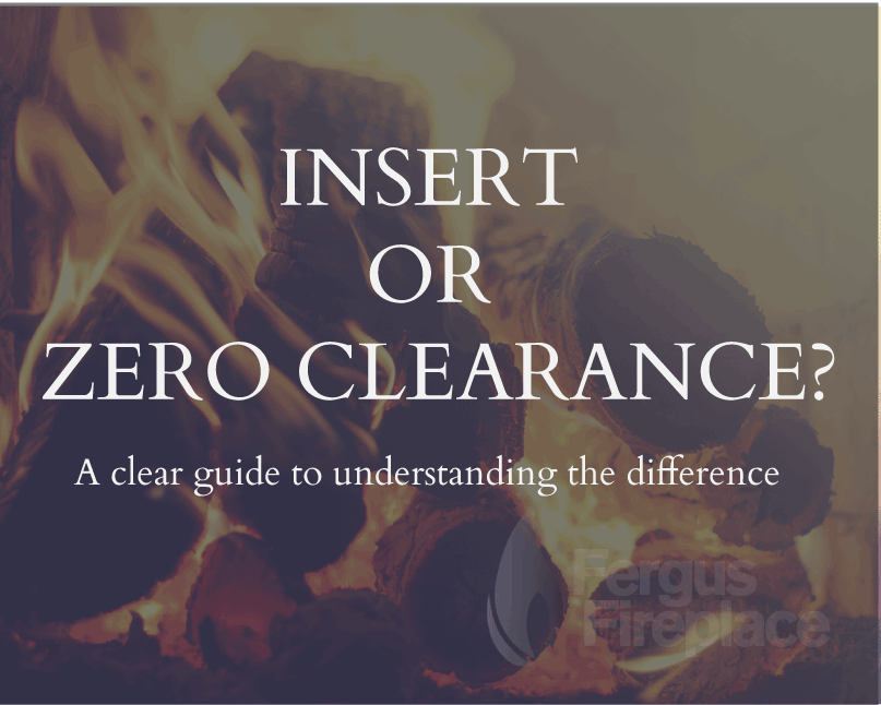 Choosing a Fireplace: Insert or Zero Clearance?