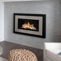 Valor G3 with Brushed Nickel Surround, Gas, Fireplace ...
