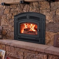 RSF Pearl, Woodburning, Zero Clearance Fireplace - Fergus ...
