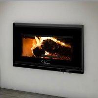 Valcourt FP12 Mundo, Woodburning, Zero Clearance Fireplace ...