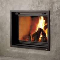 Valcourt FP7 Antoinette, Woodburning, Zero Clearance
