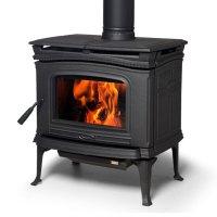 Pacific Energy Alderlea T4, Woodburning, Freestanding ...