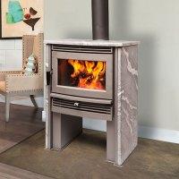 Pacific Energy Neostone 2.5, Woodburning, Freestanding ...