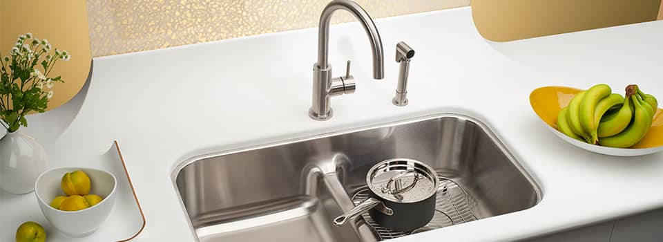 buy kitchen sink blue cabinets for sale how to stainless steel sinks with science ferguson stainlesss from