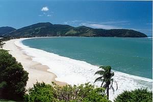Praias: Tabatinga tem águas calmas e cristalinas