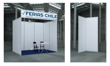 Panel Blanco Ferias Chile