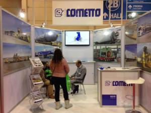 Progettazione montaggio e noleggio di stand in Cile.