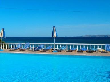 Schwimbad Kreta Zorbas Island