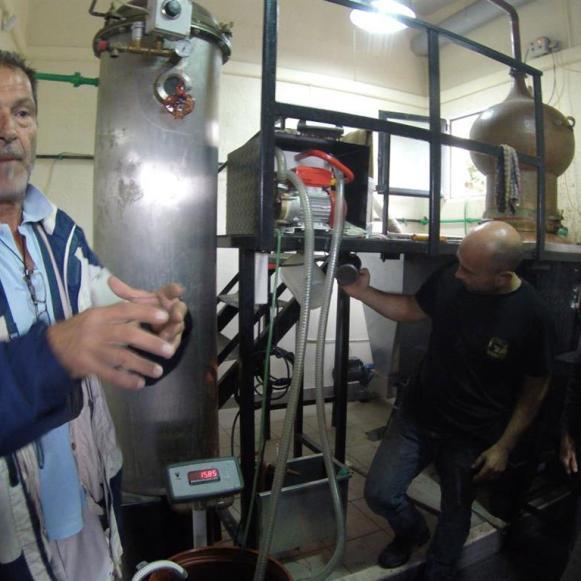 Raki Produktion auf Kreta, aus was wird Raki gemacht