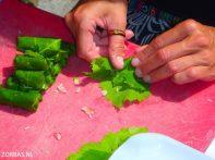 Kochen-auf-Kreta-Griechenland im freien