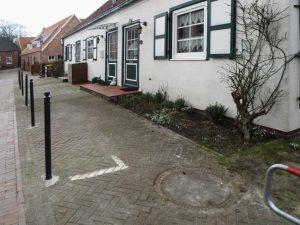 Vor dem Haus können Sie bequem parken