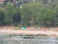 Schwimmen im Sauerland am Hennesee