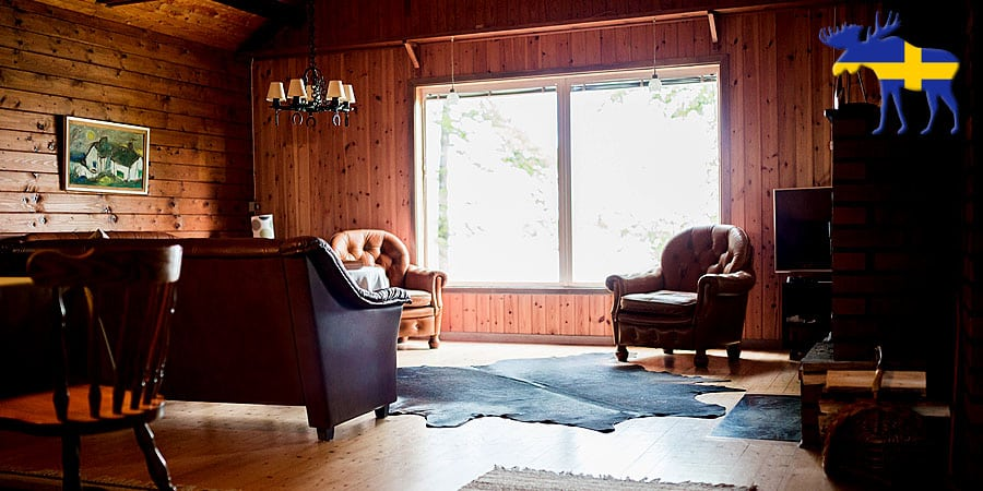 Rustikales Ferienhaus in Schweden