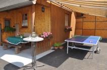 Ferienhaus mit Tischtennistisch