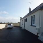 15 St. Pierre Ferienhausvermietung Bretagne Kappeler Parkplatz auf dem Grundstück