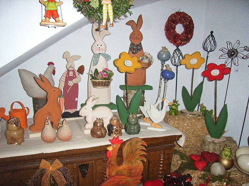 Buerliches Kunsthandwerk  Babette Otters  Holzfiguren